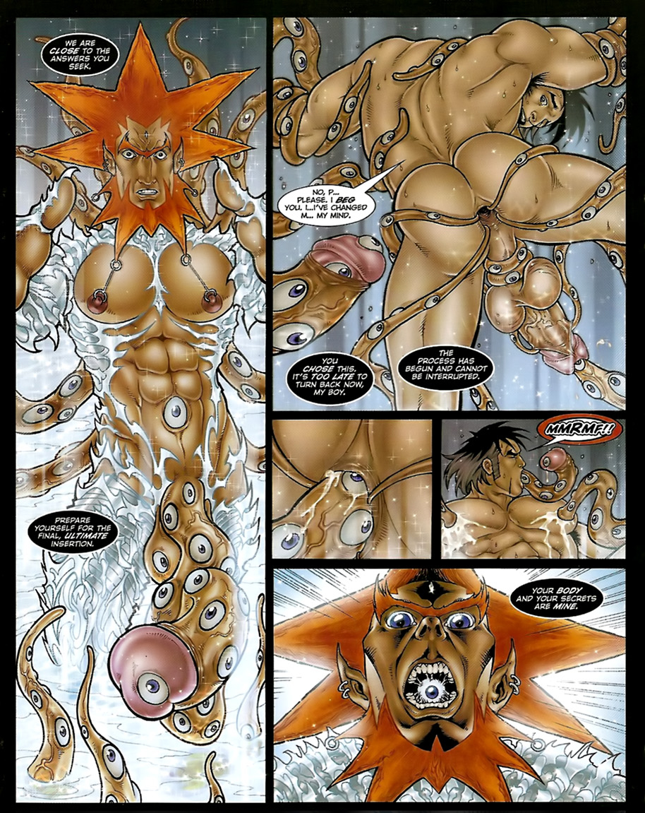 the meera gentle monster synx Tails of demons and gods