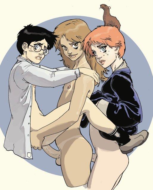 charlie granger weasley hermione and Kono subarashii sekai ni syukufuku wo!