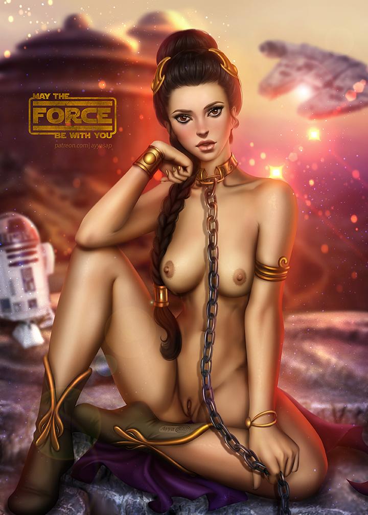 star wars nude wars the clone Miss mountain my hero academia