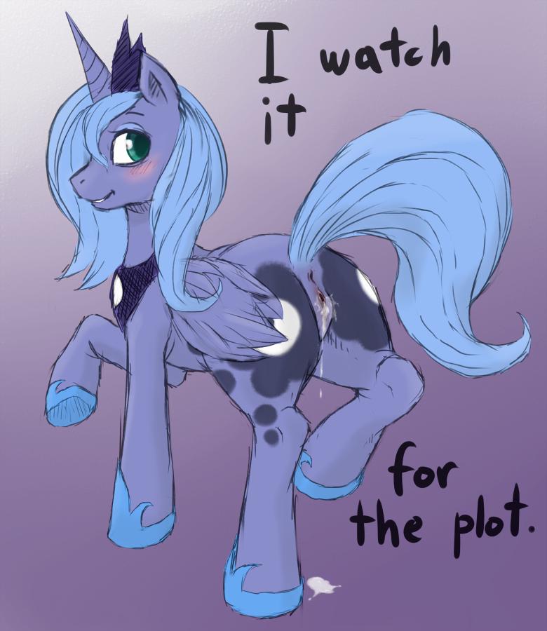 luna my little princesa pony All the way through hentai video