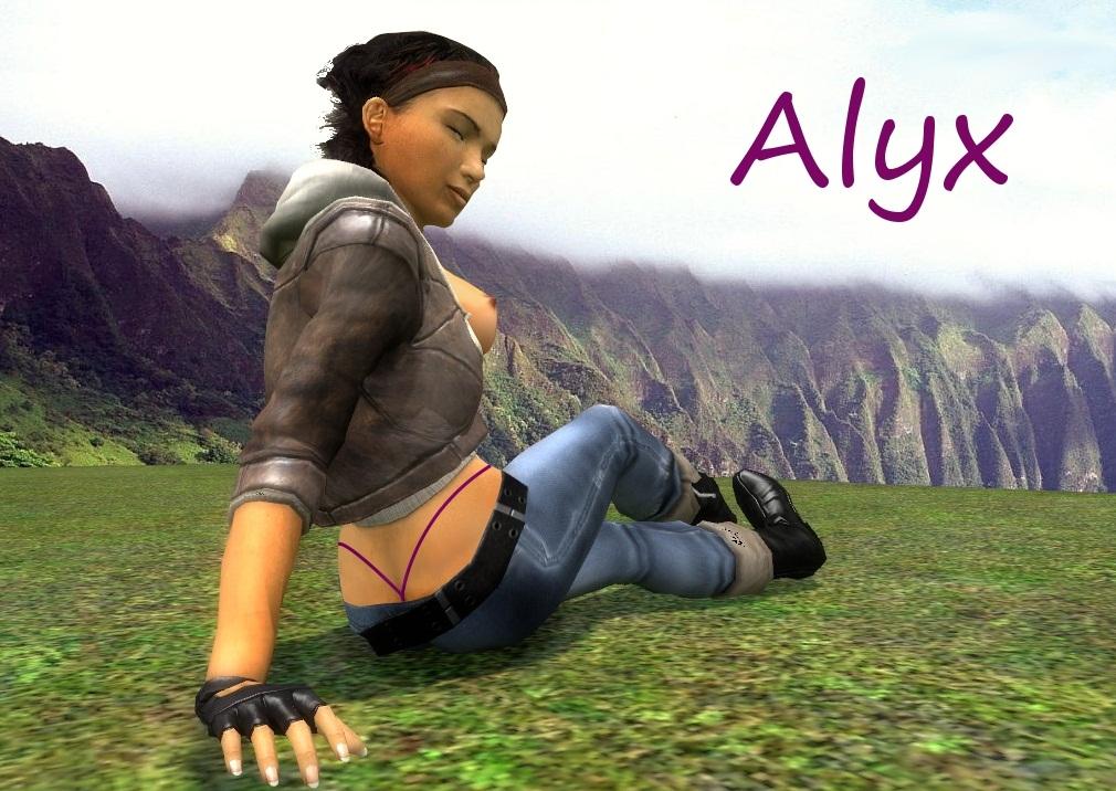 life alyx nude 2 mod half The legend of zelda paya