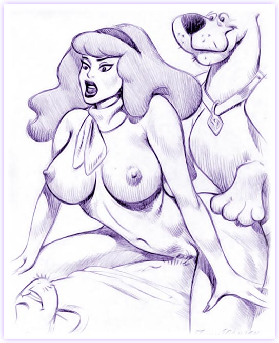 water doo dog hot scooby mystery incorporated Queen's blade: spiral chaos