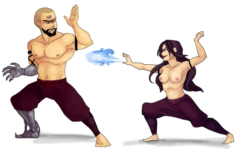 man airbender combustion avatar last the Rick and morty summer breast expansion