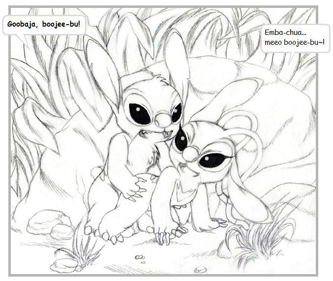 angel stitch & series lilo the The last of us