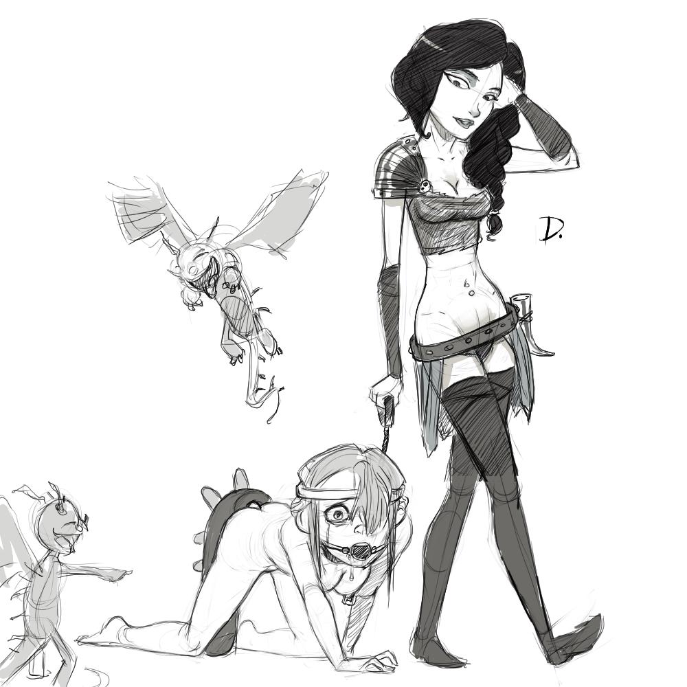 your nude to how train dragon Mirelia q melromarc