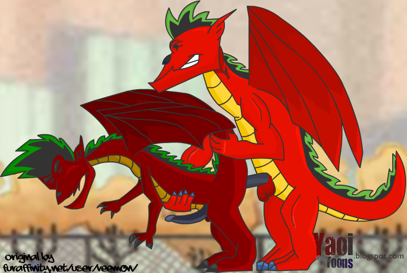 dragon twins long jake american Animopron all the way through