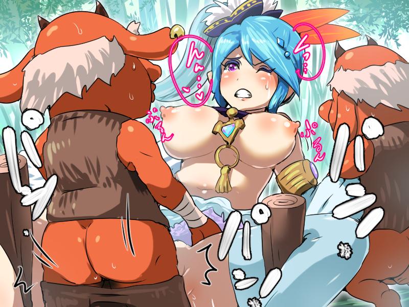 zelda of hentai legend midna the Anime girl pee naked comic