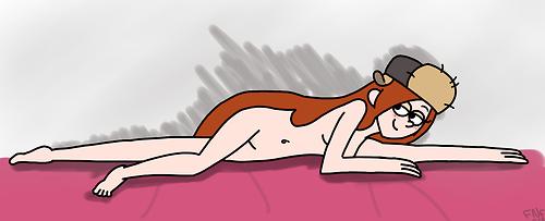 cabana misterio falls del la gravity Doki doki literature club yuri nude