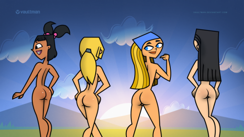 nude girls total drama island Bloodstained ritual of the night bunnymorphosis