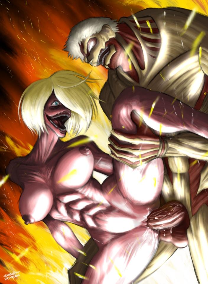 faceless attack titan on titan Crimson girls: chikan shihai