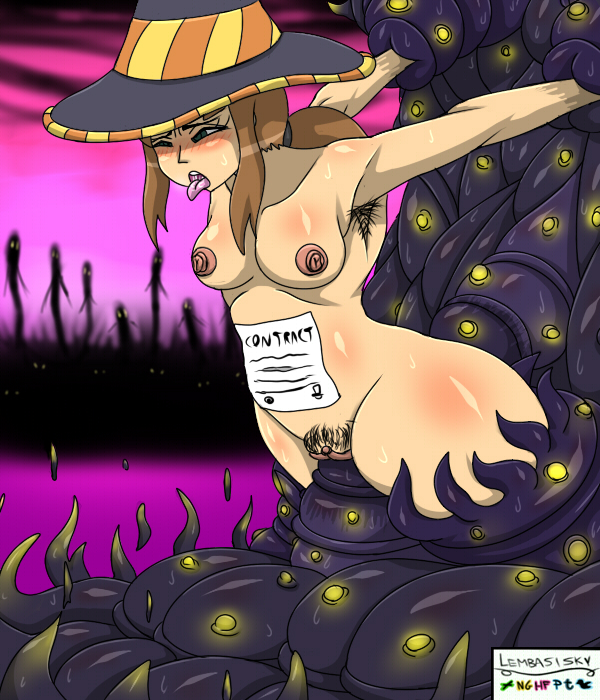 in dance hat in to time how Monster girl quest alice death