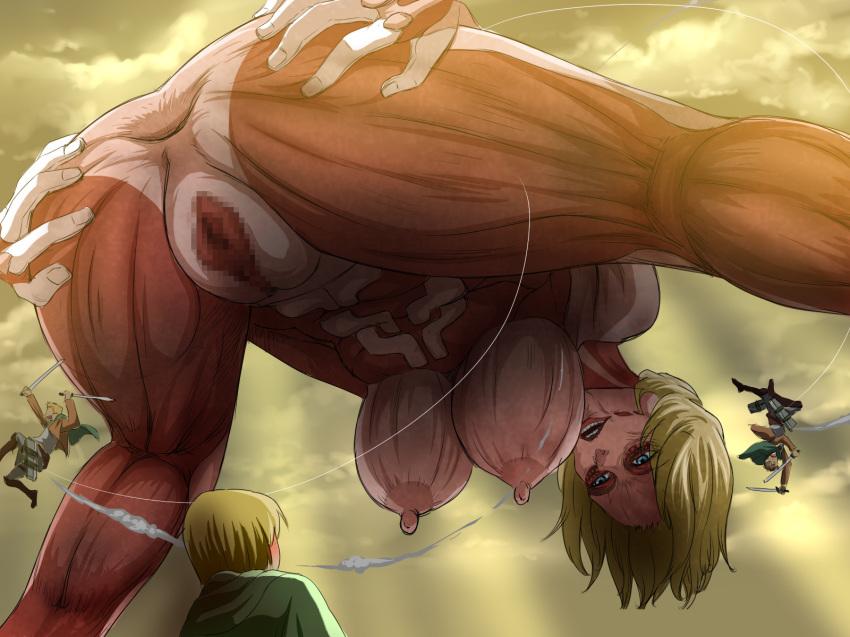 titan titan female attack porn on Puzzle and dragons