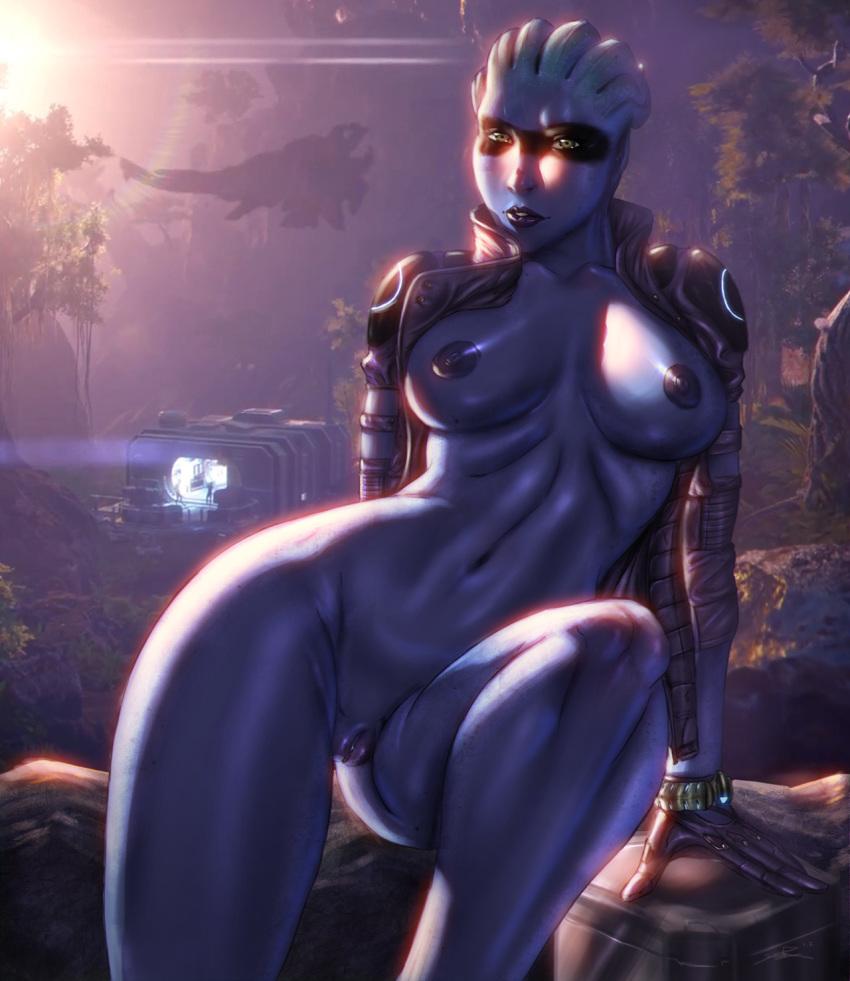 andromeda mass effect naked peebee Breath of the wild magda