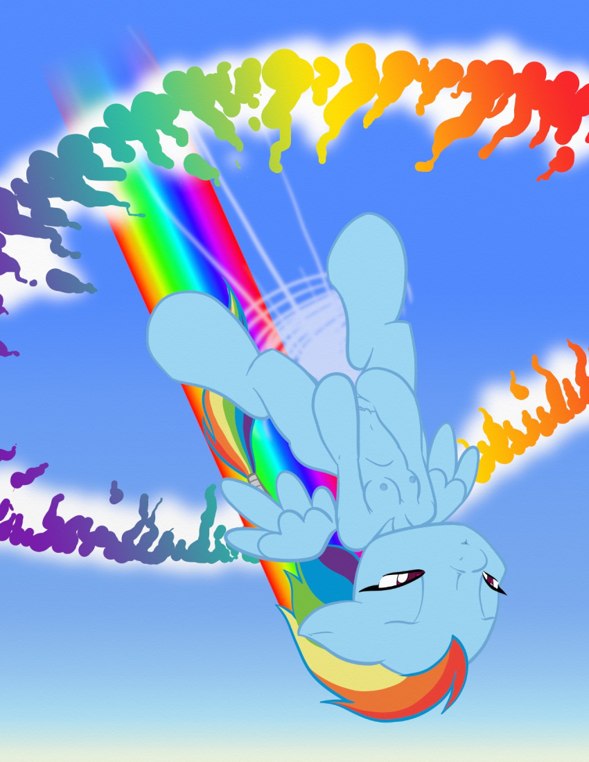 little my rainbow naked dash pony Mighty switch force