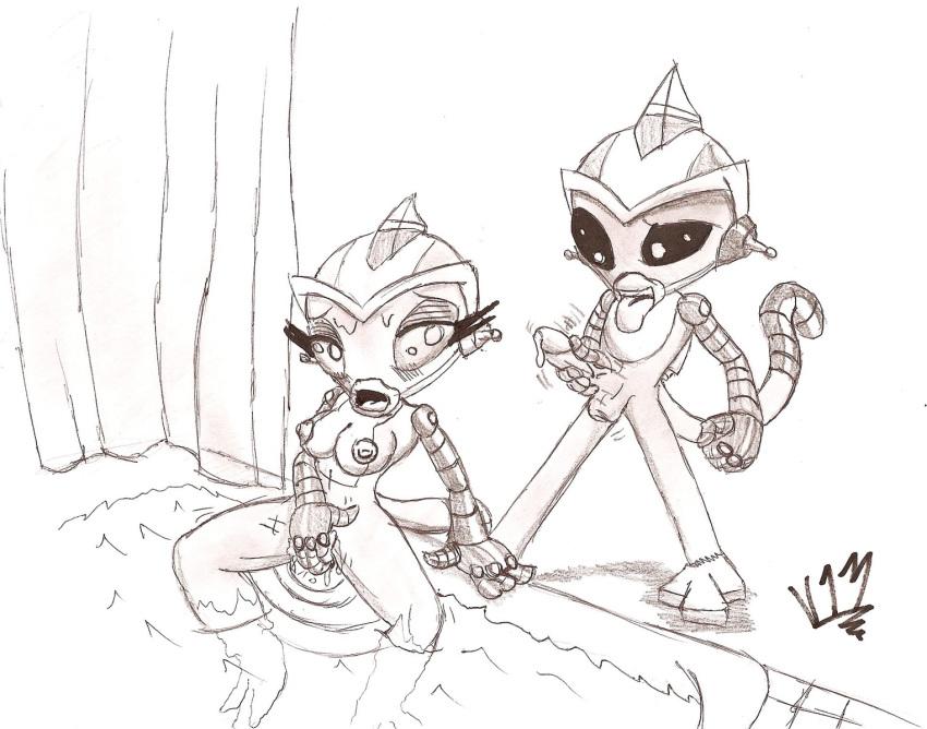 hyperforce robot team mandarin go super monkey Shoujotachi no sadism the animation