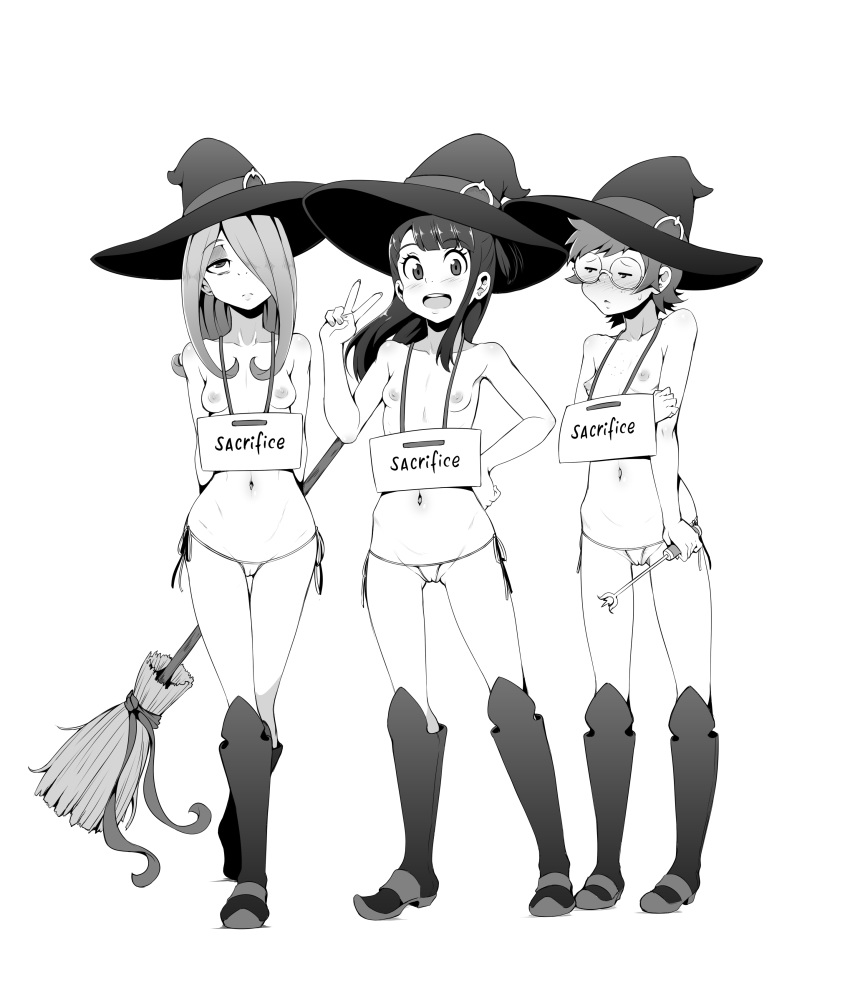 little my witch academia sucy Syr is it wrong to pick up