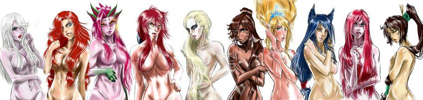 league girls of legends anime Hantsu-x-trash