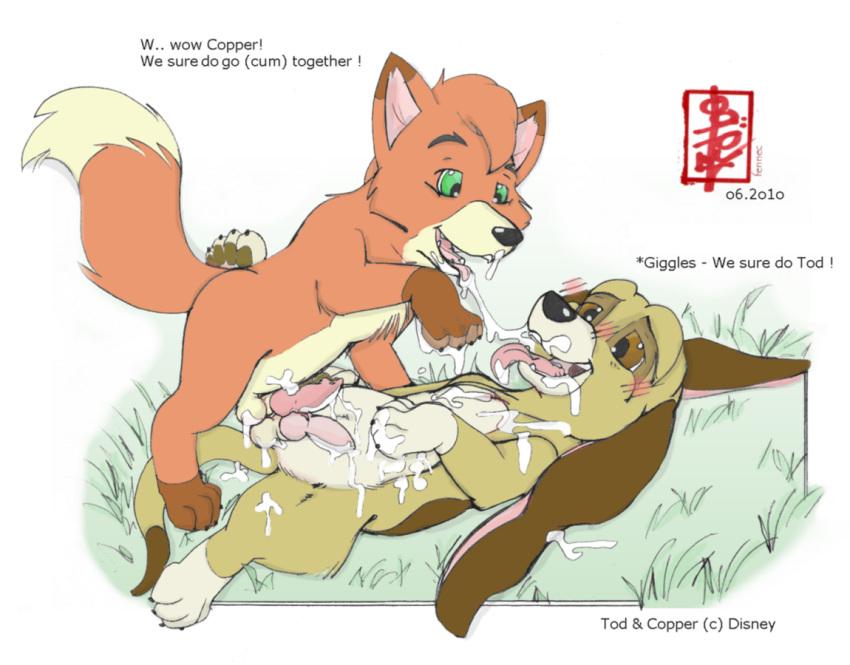 the gay hound fox and Kizuki chitose my hero academia
