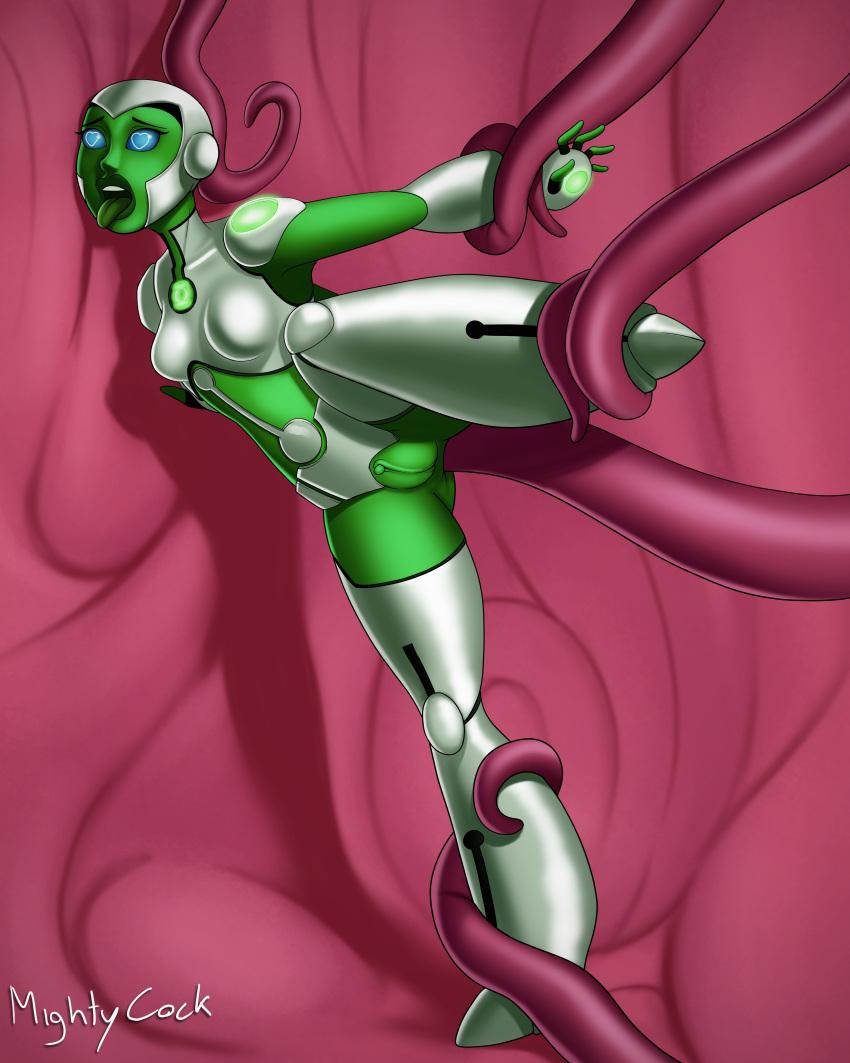 sleepycast m&m green Girl covered in cum gif