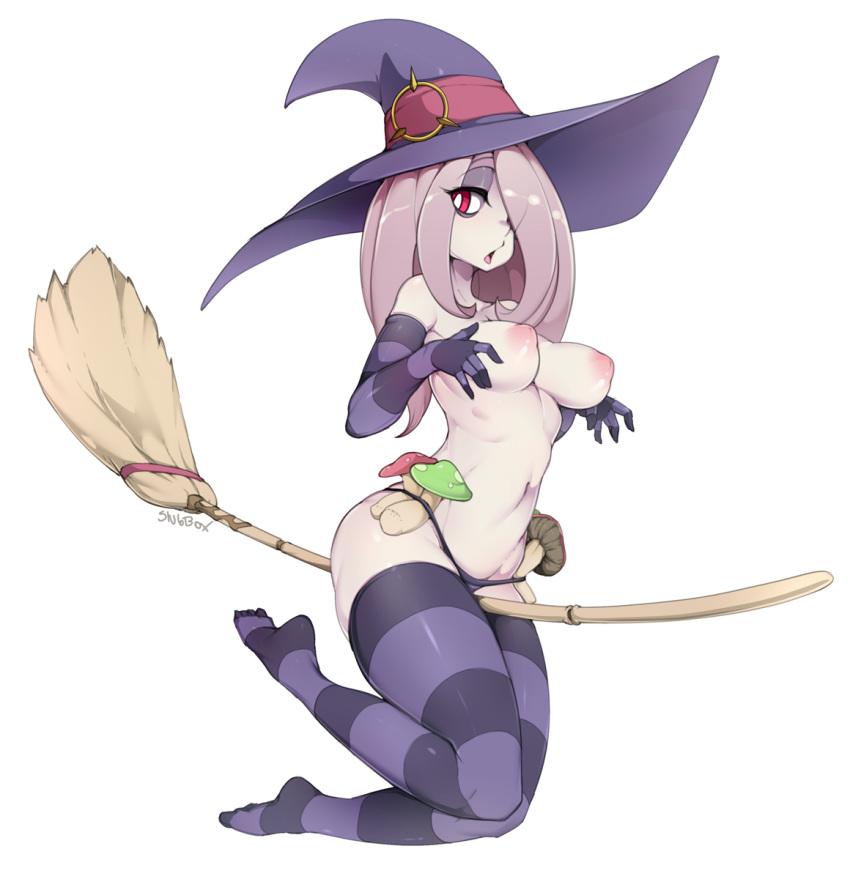 my witch sucy little academia Super mario bros