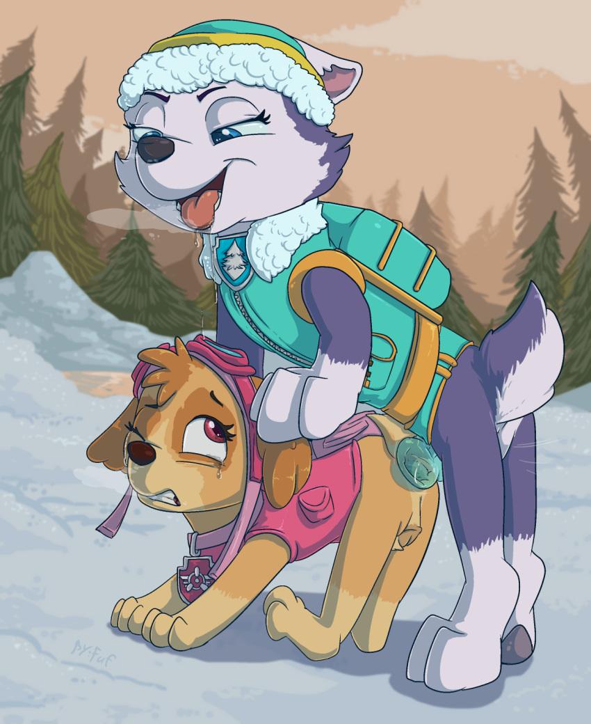 x tundra paw patrol rocky Fnaf toy bonnie and bonnie