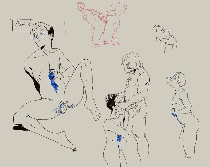 comic porn human become detroit Doki doki literature club natsuki naked
