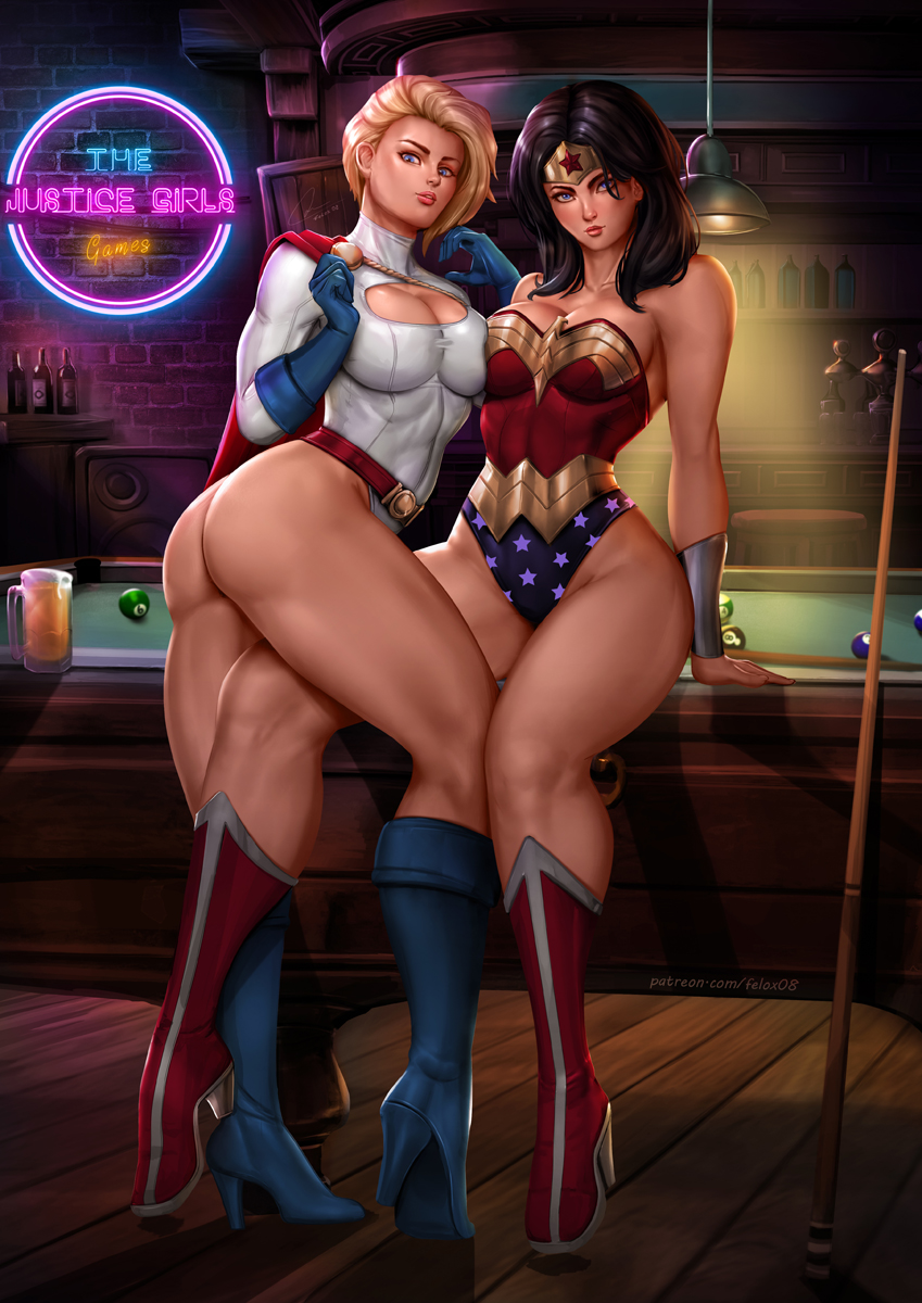woman and power girl wonder Project x love potion disaster animated gif