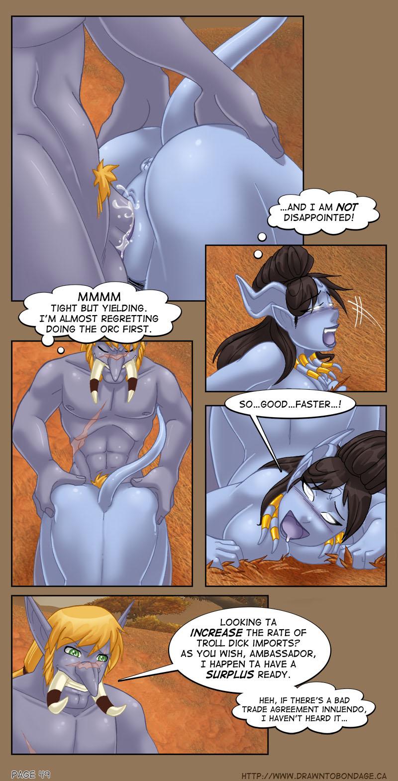 world comics of warcraft sex Breath of fire 1 nina