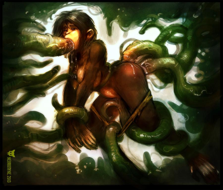 mania green tentacle of secret the Tac nayn x nyan cat