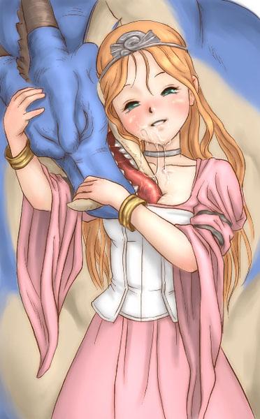 quest female dragon ogre x Yu gi oh female characters