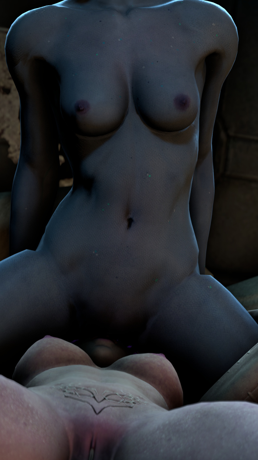 andromeda nude mass effect cora D&d orc woman
