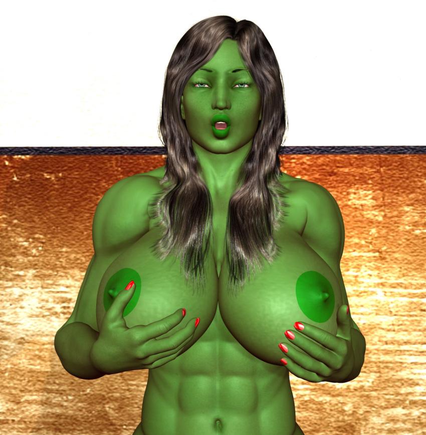 full hulk transformation she moon Fela pure mitarashi-san chi no jijou the animation
